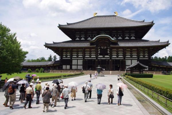 Japan-Osaka-Nara-Todaiji Temple