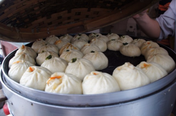 Sweet dumplings - baozi