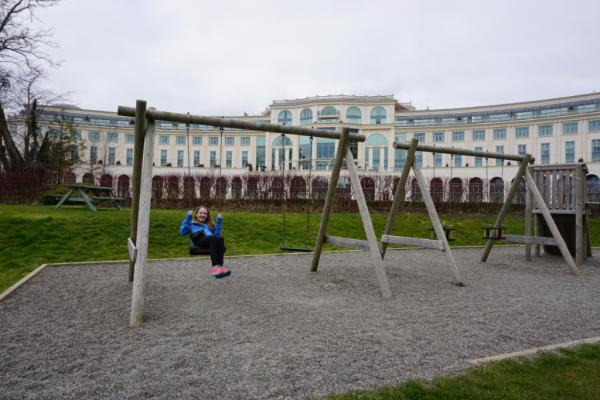 Ireland-powerscourt hotel-terrace garden playground