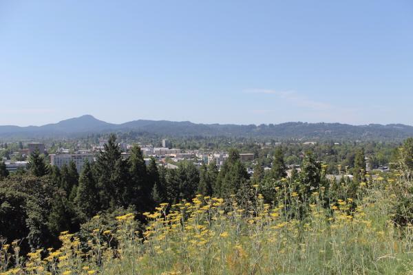 Downtown Eugene-Oregon