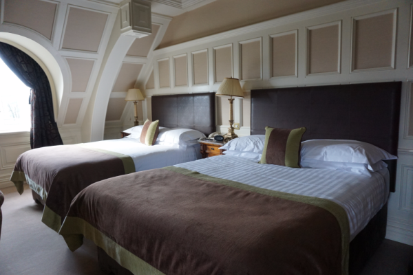 Ireland-killarney park hotel-O'Connell Suite-double beds