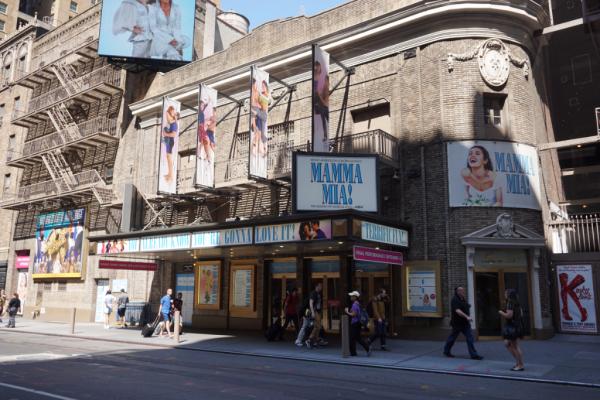 Walks of new york-disney on broadway tour-broadhurst theatre