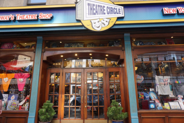New york city-broadway-theatre circle shop