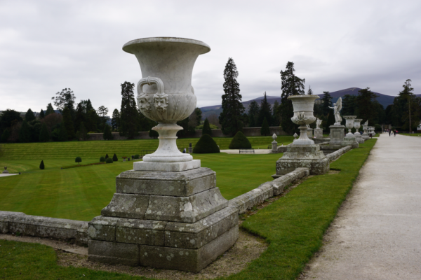 Ireland-powerscourt gardens-italian terrace urns