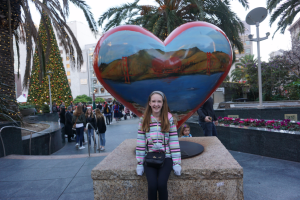 California-san francisco-union square-heart