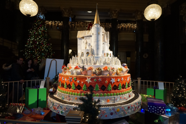California-san francisco-westin st. francis-enchanted holiday castle
