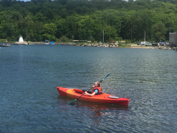 canada-manitoulin island-kagawong-kayak