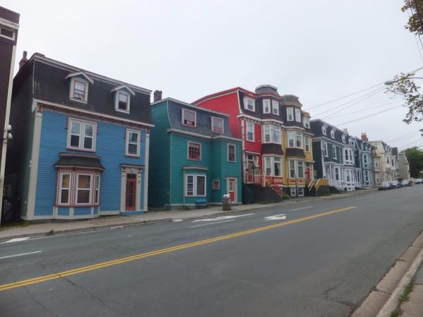 Newfoundland-St. John's-jellybean houses
