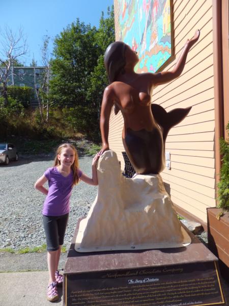 St. John's-outside Newfoundland Chocolate Company