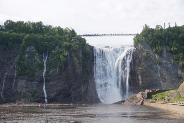 Canada-quebec-montmorency falls