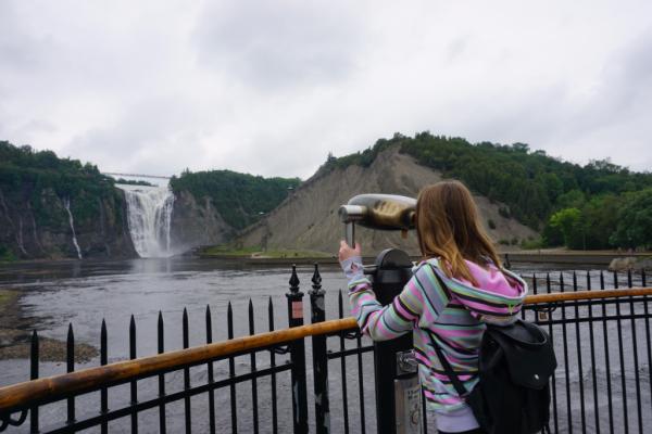Canada-quebec-montmorency falls park
