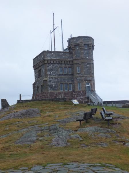 newfoundland-st. john's-signal hill-cabot tower