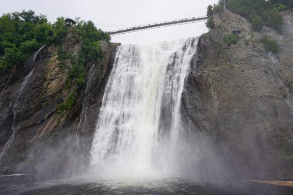 Canada-quebec-montmorency falls park-close to falls