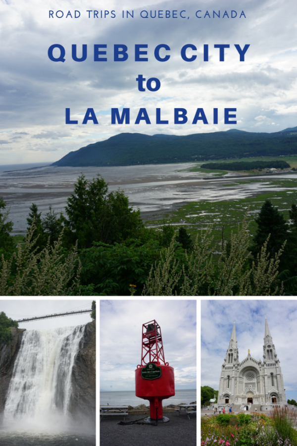 Road trips in quebec  canada-quebec city to la malbaie-gone with the family