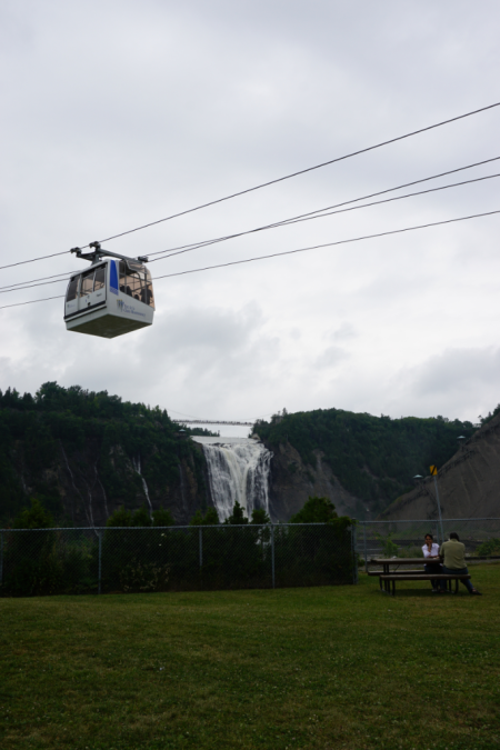 Canada-quebec-montmorency falls-gondola