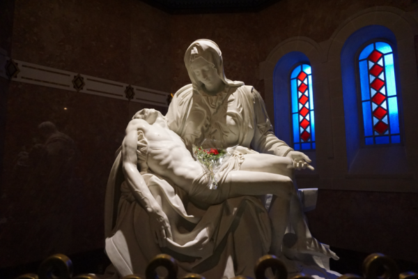 Quebec-sainte anne de beaupre-la pieta