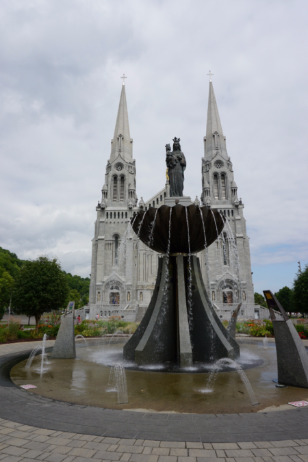 Quebec-saint anne de beaupre-fountain