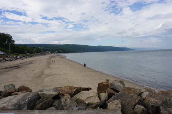Quebec-saint irenee-beach