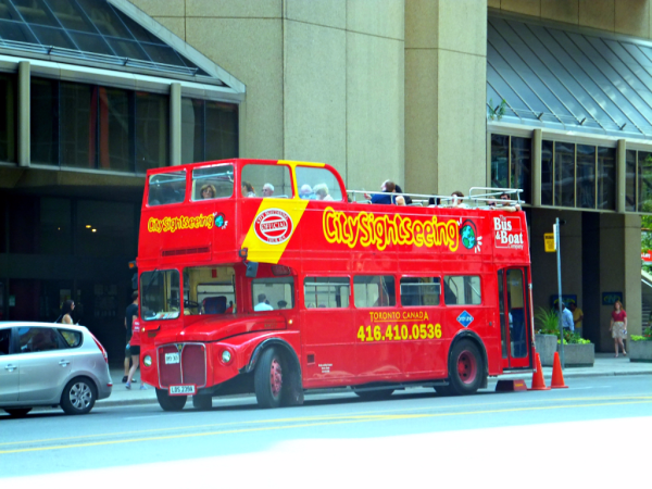 Toronto Sightseeing Bus-ed