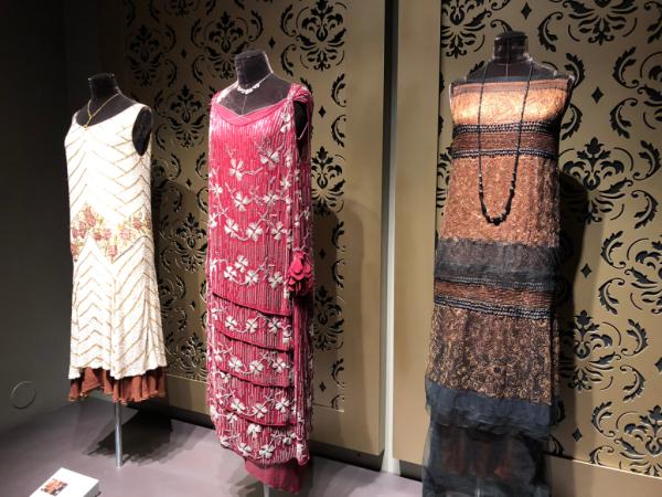 New york city-downton abbey exhibition-dresses worn ladies at Downton Abbey