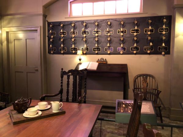 New york city-downton abbey exhibition-servants' hall