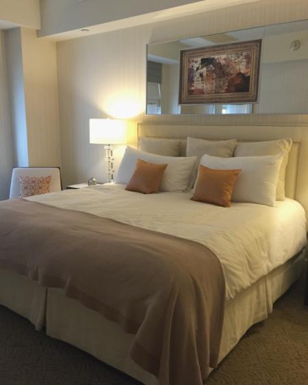 new york city-the benjamin hotel-suite bedroom