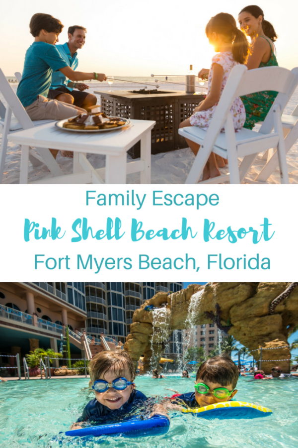 Family Escape-Pink Shell Beach Resort-Fort Myers Beach Florida-Gone with the Family