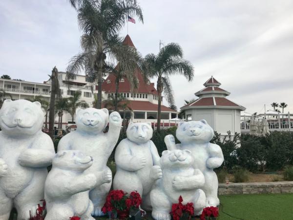 San Diego-holidays at the Hotel del Coronado