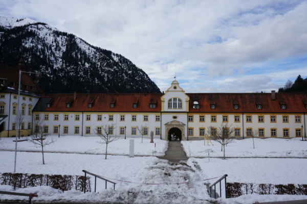 germany-grounds of ettal monastery