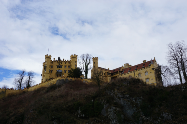 Germany-hohenschwangau castle-ed