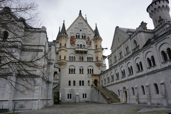 Germany-neuschwanstein castle exterior