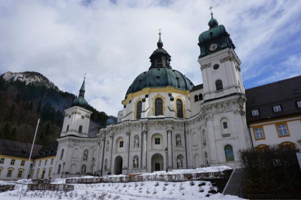 Germany-ettal monastery exterior-ed