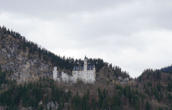 Germany-neuschwanstein castle at a distance-ed