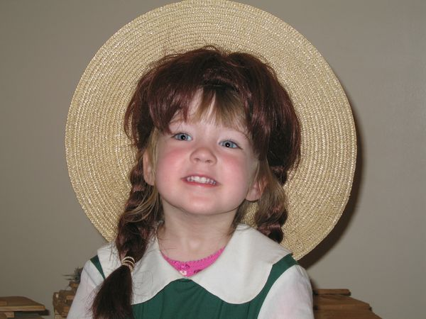 Emma as Anne of Green Gables