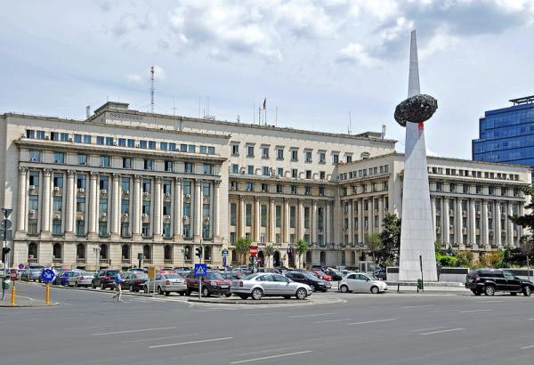 Bucharest-Revolution square
