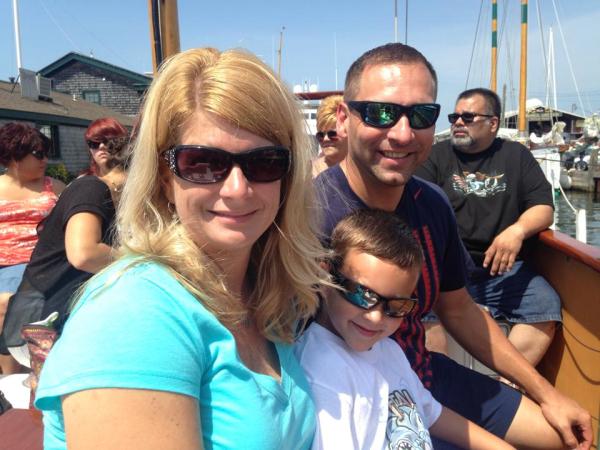 Newport-Rhode Island-Family on the Rum Runner II