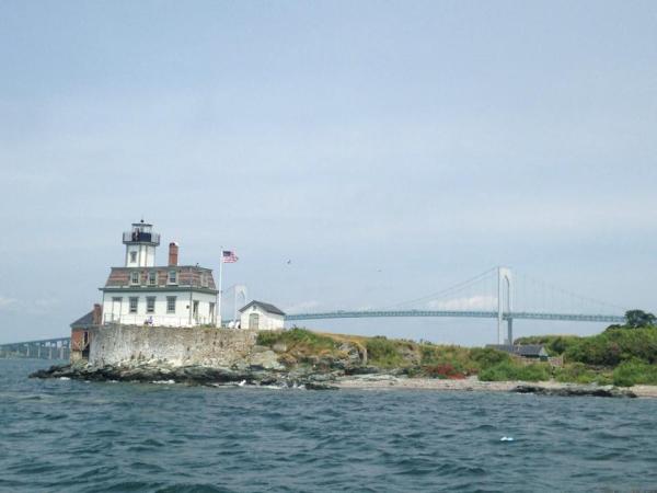 Rose island light house-Newport Rhode Island