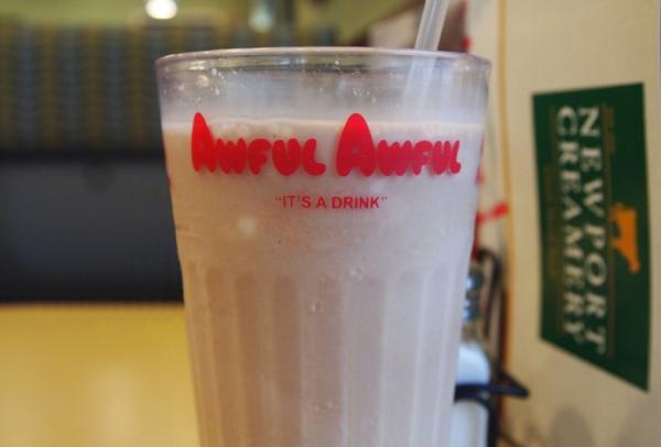 Newport Creamery-Awful awful drink