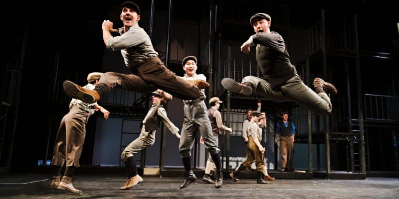 Company of Newsies-Drayton Entertainment-2019 Season