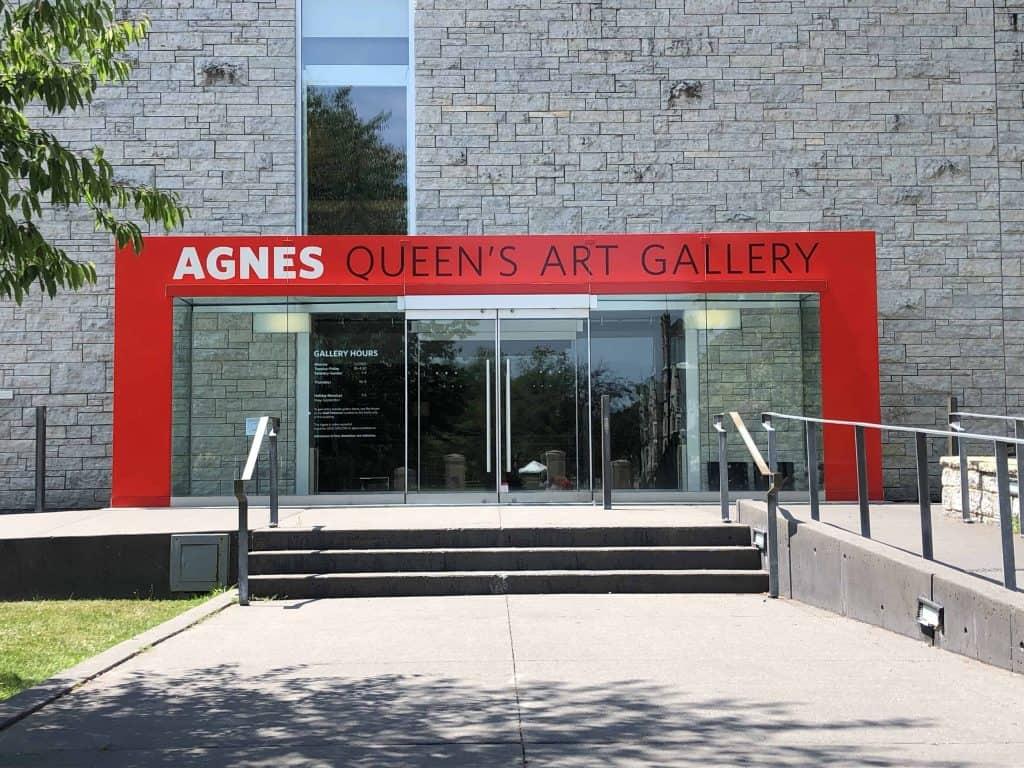 exterior of agnes etherington art centre