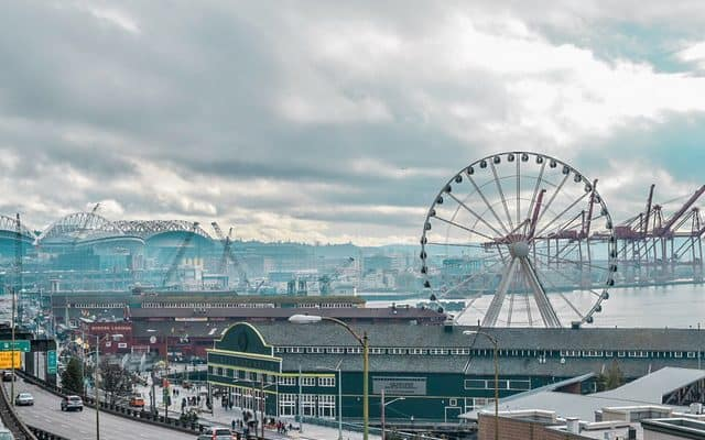 Great Wheel in Seattle, Washington