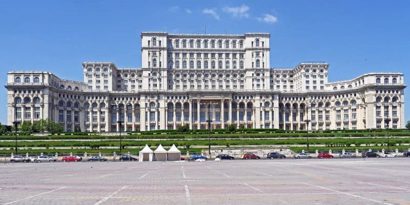Palace of Parliament in Bucharest Romania