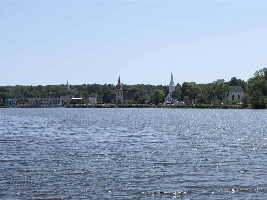 churches on waterfront