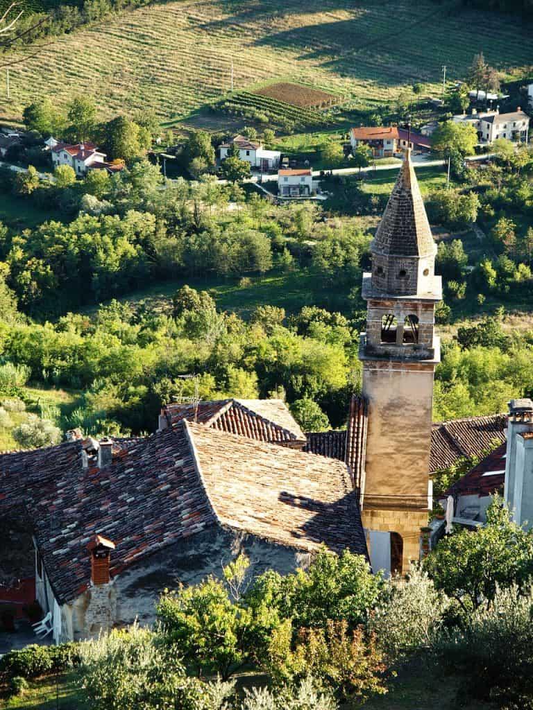 croatia-motovun tower
