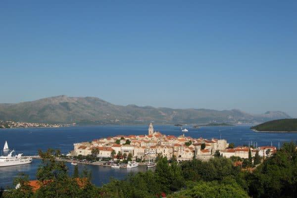 croatia islands-korkula view