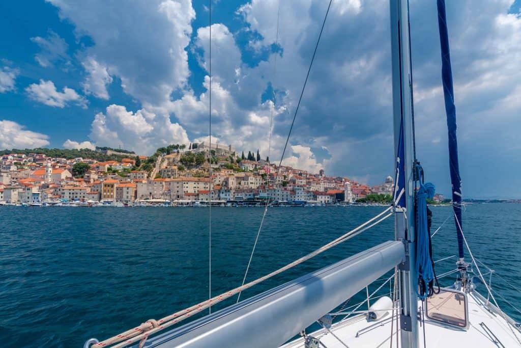 sibenic-croatia-boat