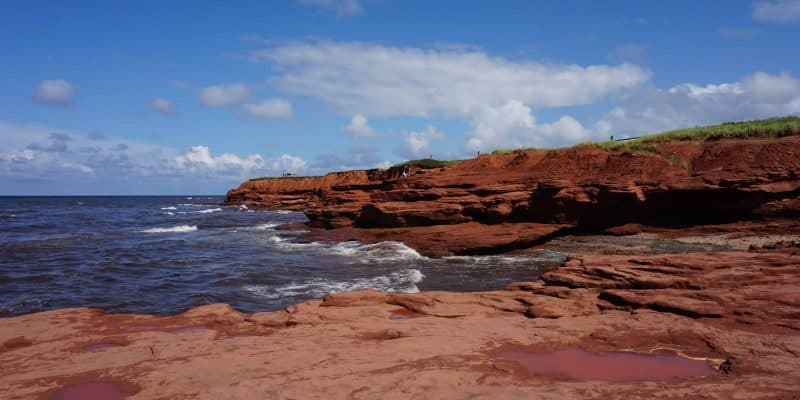 red stone cliffs-prince edward island