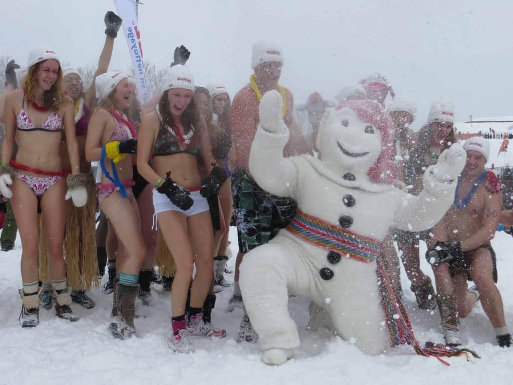 quebec carnival-ice bath