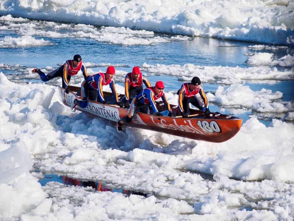quebec city-ice race