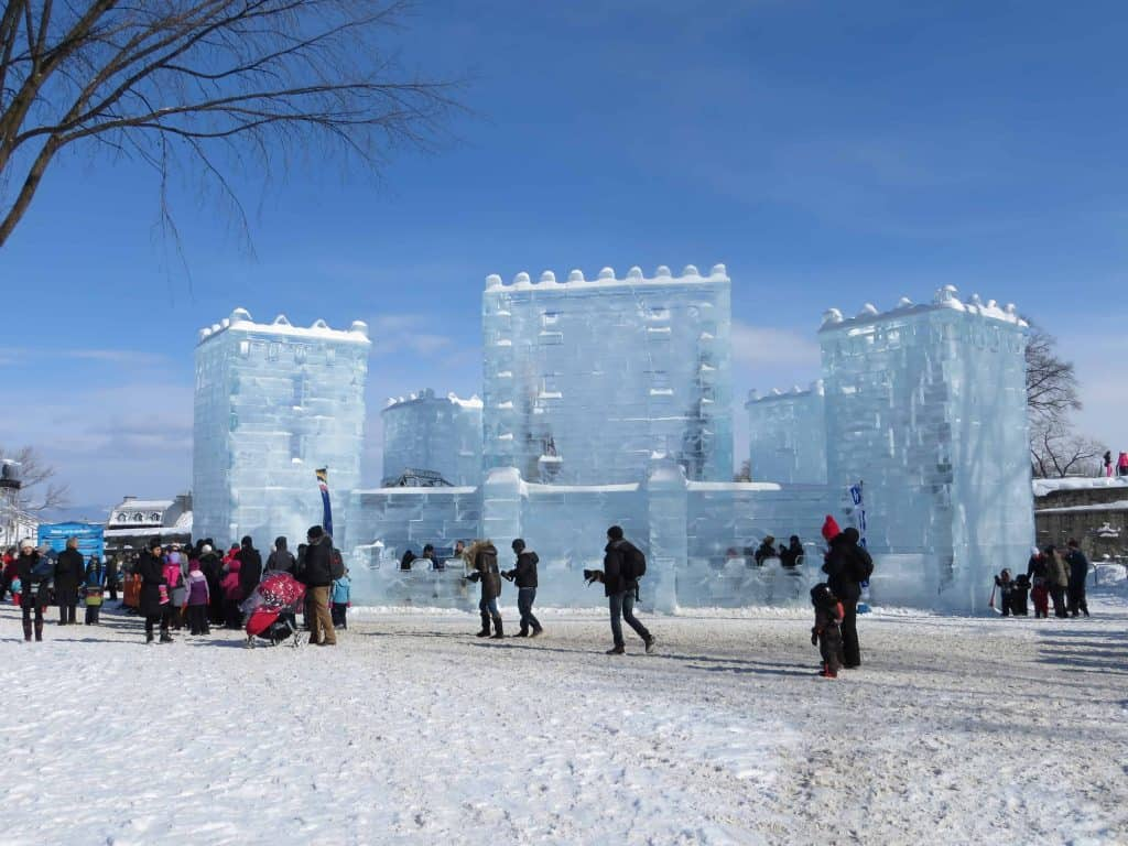 quebec winter carnival-ice palace